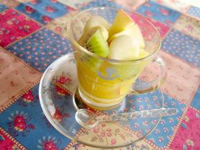 フルーツ白玉パンチ