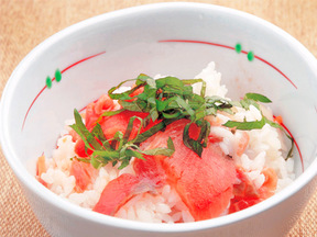 スモークサーモンのさっぱり寿司