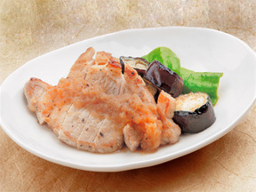 豚肉のタマネギソース