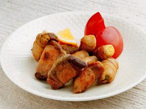 豚バラ肉と野菜のカレー風味ロール