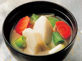 根菜類の五目味噌汁
