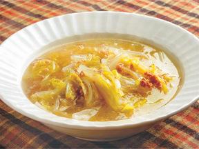 白菜とひき肉のスープ煮