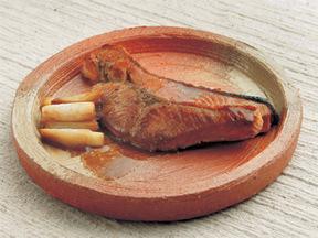 サケのバター焼き