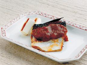 サバの味噌ソース焼き