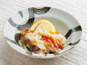 長芋とザーサイの和え物