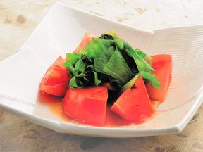 トマトとレタスのハニーサラダ