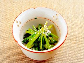 菜の花の昆布茶風味のおひたし
