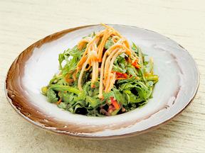 春菊とえのき茸のサラダ