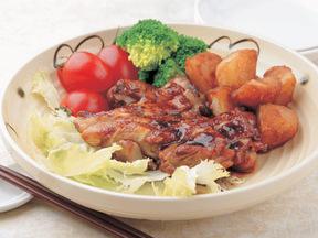 鶏のカラメルソース煮
