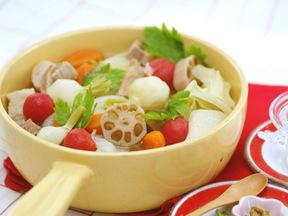 豚肉と野菜のポトフ