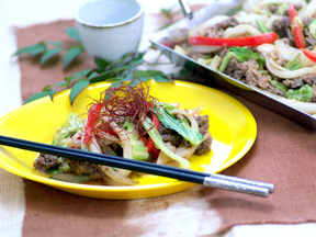 プルコギ(韓国風焼肉)