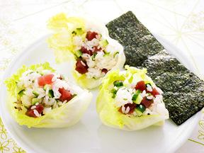 レタスサラダ寿司