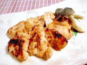 鶏肉の梅風味焼き