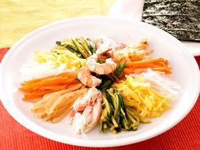 野菜と魚介のクジョルパン風