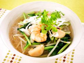 タイ風汁ビーフン