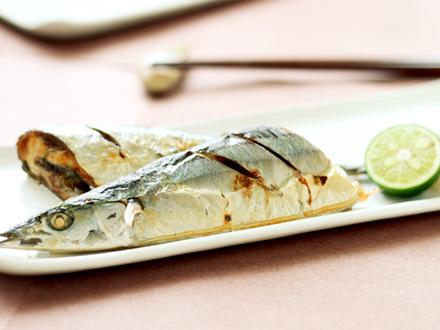 オーブンで簡単!サンマの塩焼き