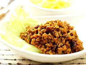 根菜のキーマカレー