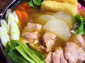 和風だしのカレー鍋