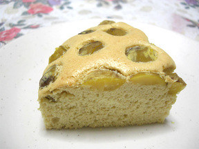和栗しょうゆケーキ