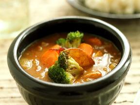 揚げ野菜カレー