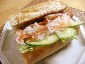 ベトナム風焼豚サンド