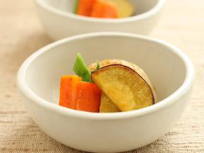 スープ煮野菜のソテー