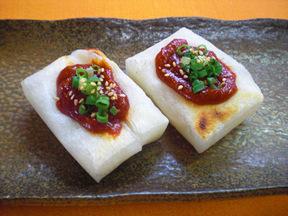 焼きもちの韓国風味噌