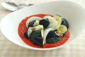 夏野菜のグリル パプリカソース