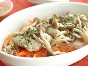 豚肉と野菜のざっくり蒸し