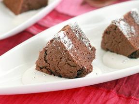 米粉のココアシフォンケーキ