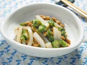 イカオクラ納豆