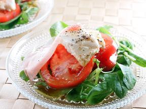 塩麹豆腐のサラダ