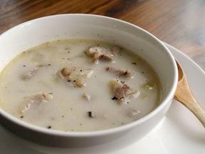 豚肉とレンズ豆のスープ