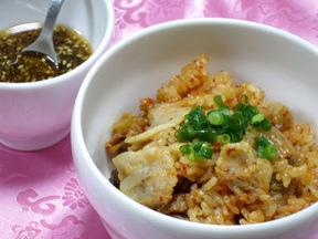 キムチの炊き込みご飯(キムチパプ)