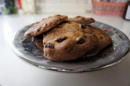 ウォールナッツチョコレートドライフルーツクッキー