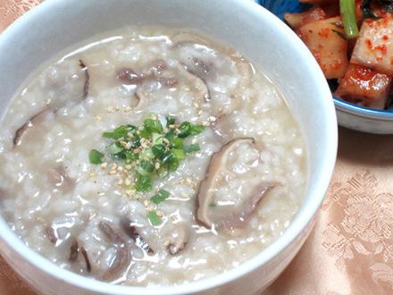 牛肉のお粥(ソコギチュク)