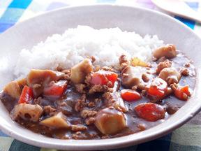 根菜の和風カレーライス