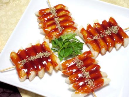 もちの串焼き(トッコチ)