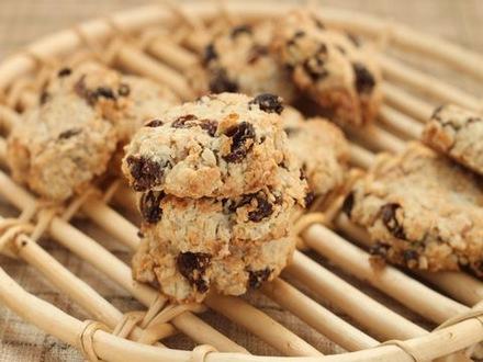オートミールのざくざくクッキー
