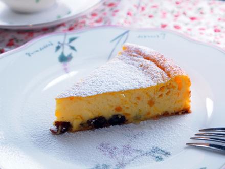 カボチャのヨーグルトケーキ