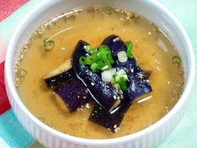 ナスの冷製スープ(カジネングク)