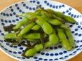 枝豆の昆布しょうゆ漬け