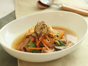 くるま麩のスープ