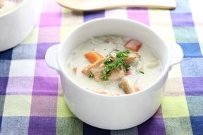 鮭のクリームチーズシチュー