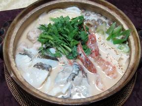 マッコリ酒粕鍋