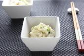 根菜とホタテのサラダ