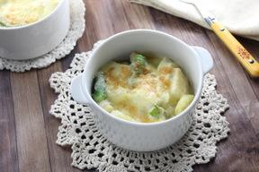 春野菜の豆腐グラタン