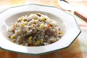 雑穀米のミックスピラフ