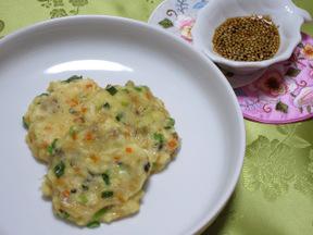 豆腐チヂミ(トゥブジョン)