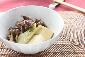 関西風肉豆腐